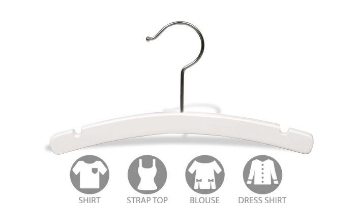 """For Children Clothings. 100 Black Top Children Garment Hangers 12 /"""""""