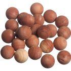 Set of 24 Cedar Spheres
