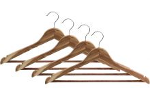 4 Pack of Cedar Suit Hangers