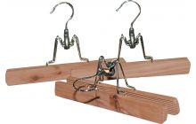 Set of 3 Cedar Clamp Hangers