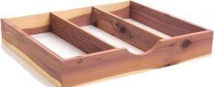 """Cedar Tie Box (14 9/16"""" X 12 5/8"""" X 2 3/8"""")"""