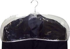 "Men's Clear Plastic Shoulder Cover (24"" X 9"")"