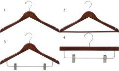 Flat Walnut Hanger Bundle