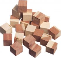 Set of 24 Cedar Cubes