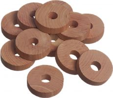 Set of 24 Cedar Disk / Rings