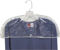 "Women's Clear Plastic Shoulder Cover (21"" X 8"")"