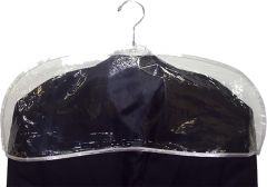 "Men's Clear Plastic Shoulder Cover (24"" X 9"")"