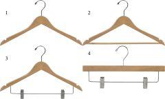 Natural Flat Hanger Bundle