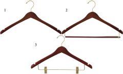 Contour Walnut Brass Hanger Bundle