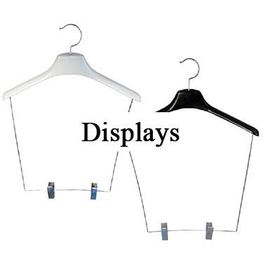 Apparel Retailers - Display Hangers