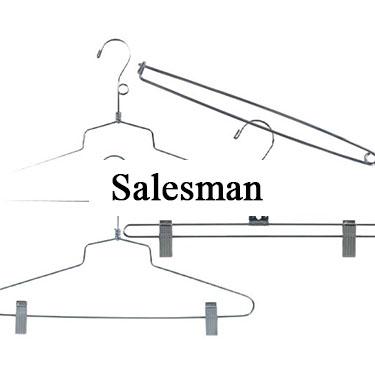 Apparel Retailers - Salesman Hangers